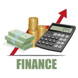 Finance concept. Business - finance. Money Royalty Free Stock Images