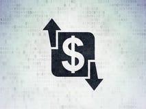 Finance concept: Finance on Digital Paper background Stock Images