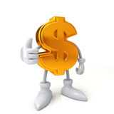 Finance concept. Good job dollar Stock Photography