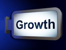 Finance concept: Growth on billboard background Stock Photo
