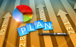 Finance concept Royalty Free Stock Photo