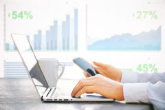 Finance concept Royalty Free Stock Photography