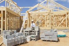 Finance Construction Director Stock Image