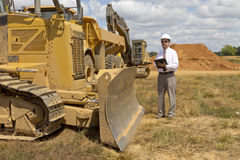 Finance Construction Director stock photo