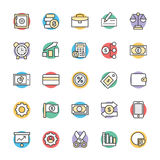 Finance Cool Vector Icons 4. This icon set is useful for Finance. It consist kind of all symbol that use in business, finance, banking, investment and many more Royalty Free Stock Image