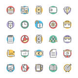 Finance Cool Vector Icons 2. This icon set is useful for Finance. It consist kind of all symbol that use in business, finance, banking, investment and many more Royalty Free Stock Images
