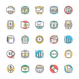 Finance Cool Vector Icons 5 Royalty Free Stock Photos