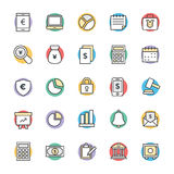 Finance Cool Vector Icons 1. This icon set is useful for Finance. It consist kind of all symbol that use in business, finance, banking, investment and many more Stock Image