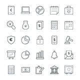 Finance Cool Vector Icons 1. This icon set is useful for Finance. It consist kind of all symbol that use in business, finance, banking, investment and many more Stock Photo