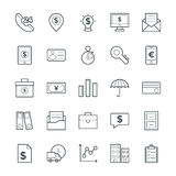 Finance Cool Vector Icons 3. This icon set is useful for Finance. It consist kind of all symbol that use in business, finance, banking, investment and many more Stock Photos