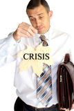Finance crisis Royalty Free Stock Images
