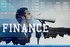 Finance Currency Banking Market Trade Concept royalty free stock image