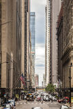 Finance District, Chicago, Illinois, USA Royalty Free Stock Photography