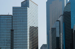 Finance District Stock Photography