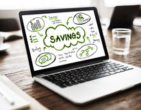 Finance Earnings Wealth Invest Asset Concept Stock Photo