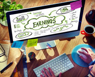 Finance Earnings Wealth Invest Asset Concept Stock Photography
