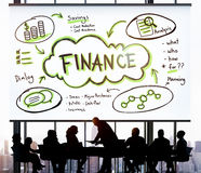 Finance Earnings Wealth Invest Asset Concept royalty free stock image