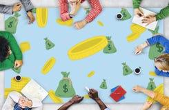 Finance Economics Access Affluent Investment Concept Stock Photos