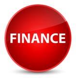 Finance elegant red round button. Finance isolated on elegant red round button abstract illustration Royalty Free Stock Photos