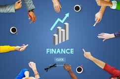 Finance Financial Accounting Balance Economy Concept Royalty Free Stock Images