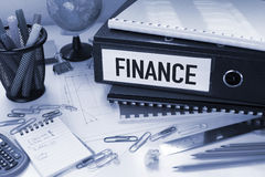 Finance. Financial business concept with file in office royalty free stock image