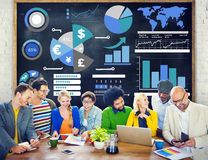 Finance Financial Business Economy Exchange Accounting Banking C Stock Photography