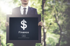 Finance Financial Economy Budget Bookkeeping Concept.  Stock Photography