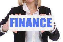 Finance financial finances money business concept Stock Photo