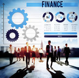 Finance Financial Investment Business Growth Concept Stock Image
