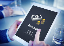 Finance Financial Money Cash Economics Concept Royalty Free Stock Photography