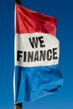 Finance Flag Royalty Free Stock Images