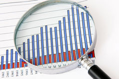 Finance focus stock images