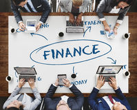 Finance Funding Commerce Business Concept Royalty Free Stock Photography