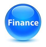 Finance glassy cyan blue round button. Finance isolated on glassy cyan blue round button abstract illustration Royalty Free Stock Photography