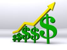 Finance Growth Stock Photo