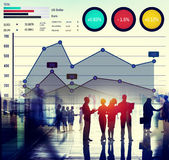 Finance Growth Business Marketing Success Analysis Concept Royalty Free Stock Photography