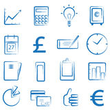 Finance icon. Vector set of finance icon vector Stock Photography