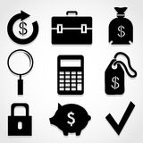 Finance icon great for any use. Vector EPS10. Stock Photos