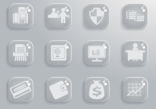 Finance icon set. Finance simply symbol for web icons and user interface Royalty Free Stock Photos