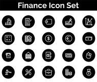 Finance Icon SET Vector illustration. Vector Illustration. Easy TO use 100% vector design and vector file formats. 100% Professional Design Royalty Free Stock Images