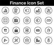 Finance Icon SET Vector illustration. Vector Illustration. Easy TO use 100% vector design and vector file formats. 100% Professional Design Stock Photos