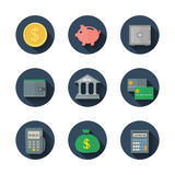 Finance icon Royalty Free Stock Photos