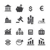 Finance icon Stock Images