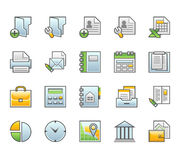 Finance icons. 20 icons: Business and Finance vector illustration