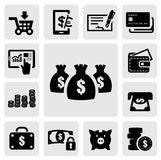 Finance Icons royalty free illustration