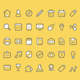 Finance icons, business icons set. 35 finance vector icons, business icons set Stock Image