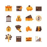 Finance Icons Set Royalty Free Stock Image