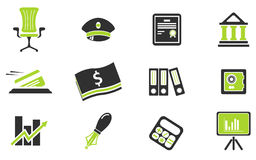 Finance Icons Stock Image