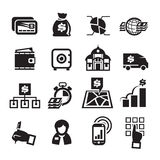 Finance Icons. Vector illustration Stock Photography