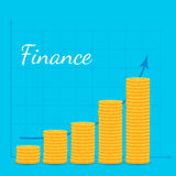 Finance illustration Stock Image